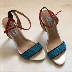 NWOT STEVE MADDEN ankle strap stiletto